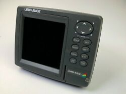 Lowrance Lms-522c Igps Built-in Gps Antenna Fish Finder Sonarhead And Cover Only