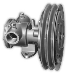 Jabsco 11870-0005 1-1/4 Electric Clutch Pump Double A Groove Pulley 12v