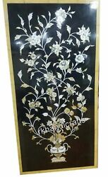 Exclusive Design Inlay Wall Panel With Mother Of Pearl Marble Coffee Table Top