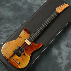 Used Spalt Instruments Totem Guitars Field Of Pleasure Free Shipping Guitar