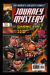 Journey Into Mystery 514 515 516 Lot Of 3 Shang-chi 1st Print Marvel 1997-98