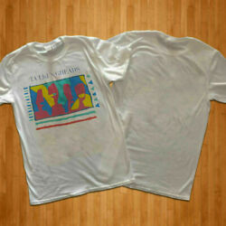 NEW HOT shirt talking Heads 80#x27;s Men#x27;s White T Shirt Sz USA