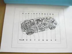 Ford Gt40 Illustrated Parts List Reprint Maintenance Manual 62 Pages In Total
