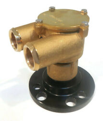 Raw Sea Water Pump For Gm Chevrolet Chevy 305 350 454 Ford 302 351 Engines