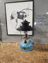 Vintage 1965 Sears Double Mantle Lantern 476.74070 By Coleman Dated 5/65