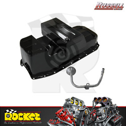 Russell Super Pan Oil Pan L/h D/stick Fits Holden Hk-ht-hg W/ Chev Sb - Rp2203