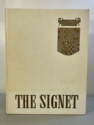 Vintage 1960 The Signet The Cecilian Academy Philadelphia Yearly Recap Book