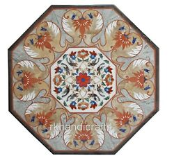 Marble Center Table Top Antique Work Coffee Table Inlay Art From Cottage Crafts
