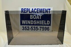 31 3/4 Id Wide Center Or Side Boat Windshield 16 High
