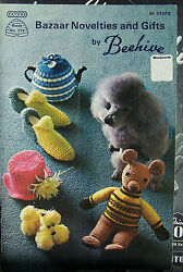 Vintage Retro Pattern Book Bazaar Novelties And Gifts By Beehive