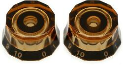 Prs Replacement Lampshade Knobs - Amber