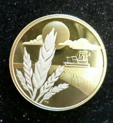 2003 Canada 100 Proof Gold Coin Marquis Wheat Discover Commemorative