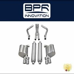 Corsa Performance 2.5 Cat Back Dual Rear Exit Fits Charger R/t 5.7l V8 - 14522