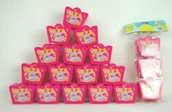Disney Princess Plastic Easter Birthday Party Treat Containers Boxes Lot Of 18