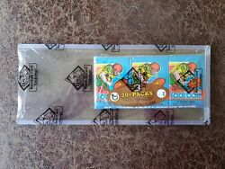 1 1979 Topps Football Grocery Tray 3-pack - Bbce- Earl Campbell Rc, Newsome Rc