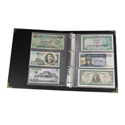 300pcs Pocket Currency Page Paper Money Album Banknote Storage Collection Holder