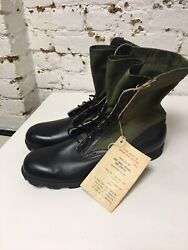 Unissued And Unworn With Tag Vietnam 2nd Pattern Jungle Boots 14 Xn