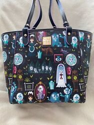 Disney Dooney And Bourke Haunted Mansion Tote Nwt