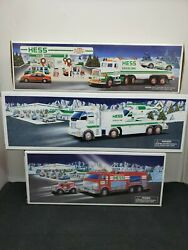 Hess Truck Lot Of 3 1991,2005, 2006 Collectable