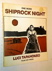 Luci Tapahonso Navajo Tribe Native American Poet One More Shiprock Night 1st Ed