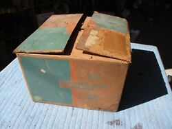 Nos 1961 Chevy Heater Core Box Blower Motor Controls