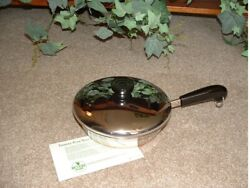 Vintage Nos Usa Revere Ware 7 Inch French Chef Skillet No. 1447 New