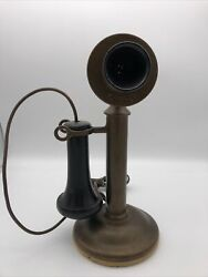 Authentic Vintage Western Electric AT@T 1904 Candlestick Phone All Original