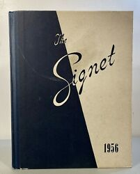Vintage 1956 The Signet The Cecilian Academy Philadelphia Yearly Recap Book
