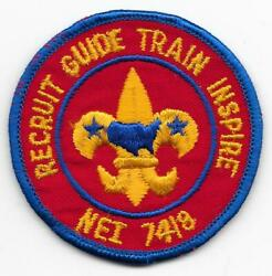 7418 Nei National Executive Institute Schiff Reservation Boy Scouts Of America