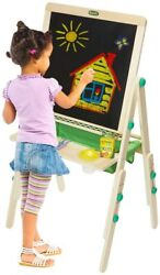 Crayola Deluxe Kids Wooden Art Easel And Supplies For Kids Ages 3 4 5