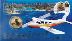 Pnc Australia 2021 Perth Stamp And Coin Show Rottnest Air-taxi Service L/e 161/200