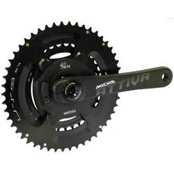 Miche Attiva Srm Power Meter Bicycle Cycle Bike Chainsets Black