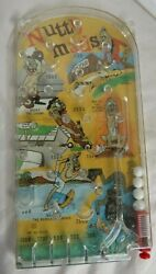 Marx Toys Nutty Mad Action Bagatelle Game / Pin Ball, Made In Usa