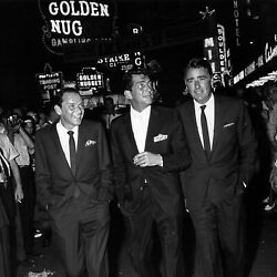Frank Sinatra Dean Martin And Peter Lawford Oceanand039s 11 Limited Edition Print