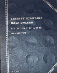 1937 To 1947 Liberty Standing Half Dollar Coin Book