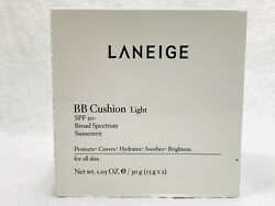 Laneige Bb Cushion Spf 50+ Light 1.05oz Free Shipping