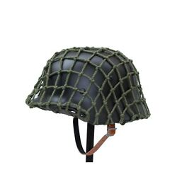 Anqiao Ww2 Wwii German M35 Helmet With Net Cover Steel Material M1935 Soldier...
