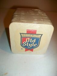 Beer Bar Coasters - Old Style / Old Style Light - Nos - Package Of 100