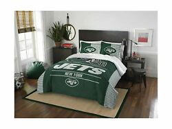 The Northwest Company Nfl Unisex Full/queen Comforter And Shams Set Green
