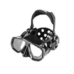 Ist Proear Dive Mask With Ear Covers Scuba Diving Pressure Equalization Gear...