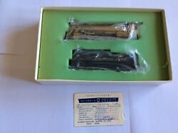 Rare Gem Models Brass Chesapeake And Ohio Class J2 4-8-2 With Box And Certificate