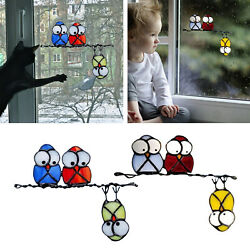Removable Kids Cartoon Birds Wall Stickers Decals Home Living Room Decor