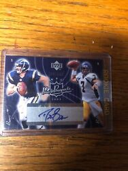 2003 Upper Deck Pros And Prospects Drew Brees Autograph Kyle Boller Out Of 500