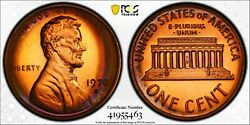 1970 S Lincoln Proof Penny Pcgs Pr67 Rb Target Toned Large Date Registry Coin Tv