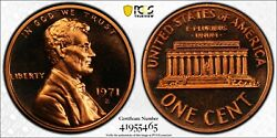 1971 S Lincoln Proof Penny Pcgs Pr68 Rd Cam Ddo Fs-101 Variety Registry Coin Tv