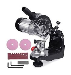 Chainsaw Sharpener, Professional Electric Multi-angles Automatic Saw Chain Bl...