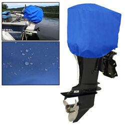 Blue Boat Outboard Motor Engine Half Cover Fit Up To 200hp 10/40/100hp/200hp