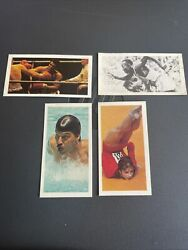 1979 Brooke Bond 40 Olympic Greats Completeali, Owens,spitz,korbut And More Ex