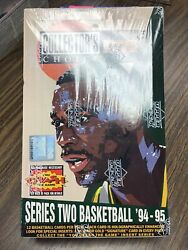 1994-95 Ud Collectorand039s Choice Basketball Series 2 Hobby Factory Sealed Box