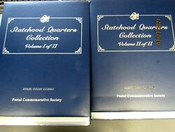 Statehood Quarters Collection Vol1 And Vol 2 Up To South Dakota30473-closet-ys